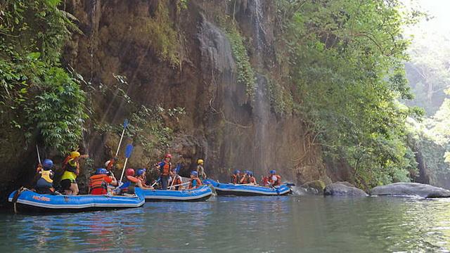 Wisata Arung Jeram Pekalen Probolinggo