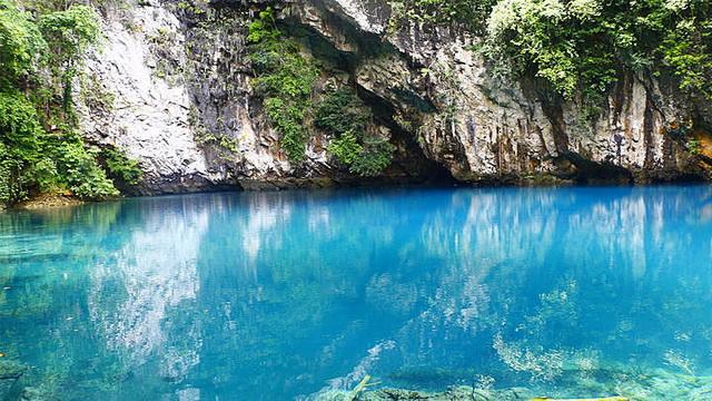 Wisata Danau Biru