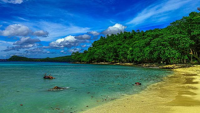Wisata Pantai Gapang