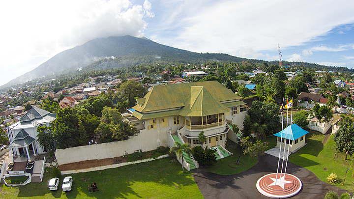 Wisata Museum Kedaton Sultan Ternate